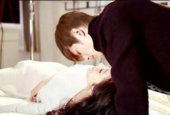 陈学冬杨幂接吻图片曝光 小时代4陈学冬杨幂接吻戏